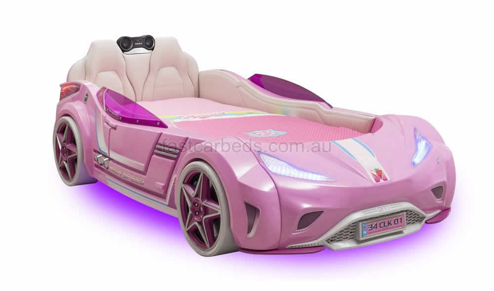 Luxurious Cilek Pink Racer Bed